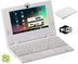 white mini laptop android installed wifi